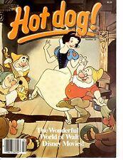 Hot Dog Magazine The Wonderful World of Walt Disney World Peanuts Charlie Brown~