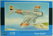 "Delta 1C Passagier-und Transportflugzeug ""Over Spain"" , Azur, 1:72, Plastik NEU"