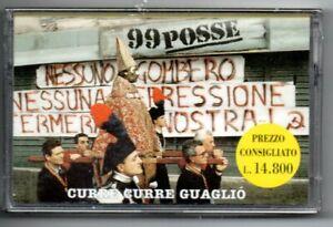 MC K7  99 POSSE: CURRE CURRE GUAGLIO' 1999 BMG RICORDI NUOVA SIGILLATA