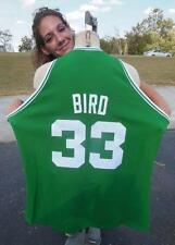 #33 LARRY BIRD 1985 BOSTON CELTICS 1962-63 HARDWOOD MITCHELL NESS JERSEY SZ 56