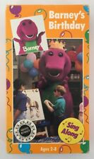 Barney's Birthday Rare & OOP Children's Show The Lyons Group Home Video VHS