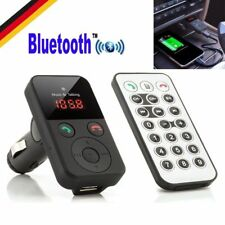 Auto Freisprechanlage Bluetooth KFZ FM Transmitter MP3 Player Car USB SD TF  AUX