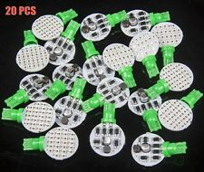 20x 12V 4.8W T10 921 194 Super Bright Green Light Car RV Wedge 24 SMD LED Bulbs
