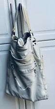 Large Diesel Bag - Leather And Canvas, Pre-owned