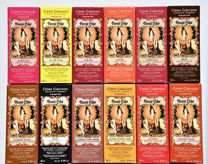 Henna Hair Dye Colour Cream Liquid Auburn-Black-Brown-Copper-Blond-Mahogany