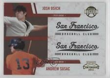 2011 Playoff Contenders Winning Combos Andrew Susac Josh Osich #2