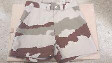 -*- Taille 34  -*- ( 68) Short Armée Française Camouflage Centre Afrique