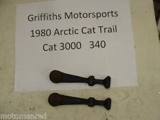 79 80 Arctic cat 3000 340 Trailcat Trail HOOD RUBBER STRAP SET STRAPS 4000 5000