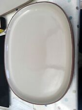 14 INCH SERVING/EATING/STEAK PLATES CATERING QUALITY STONEWARE x 6