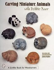 Carving Miniature Animals Schiffer Book for Woodcarvers