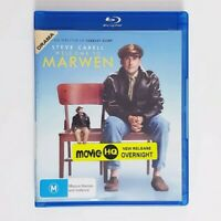 Welcome to Marwen Bluray Movie - Free Postage Blu-ray Comedy Steve Carell