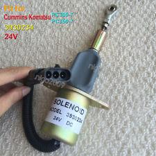 3930234 Fuel Shut Off Solenoid Valve 24V for Cummins Komatsu PC300-7 PC350-7