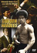 GOLDEN NEEDLES ~ JIM KELLY ---Blaxplotation 70'S BLACK CLASSICS NEW DVD