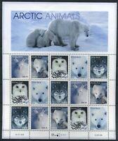 USA Schmuckbogen MiNr. 3094-98 postfrisch MNH Tiere der Antarktis (GF15139