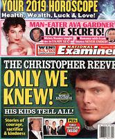 National Examiner December 24 2018 Christopher Reeve Ava Gardner Michael Landon