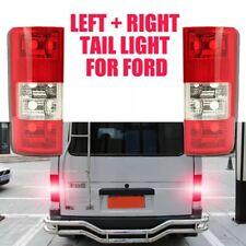 Arrière Feux One Paire pour Ford Transit Brancher 2002-2009 Lentille Coque Rouge