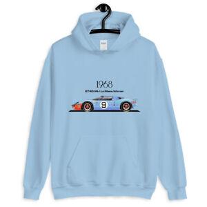 1968 GT40 Mk I Race Car Unisex Hoodie