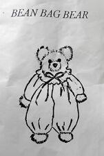 Bean Bag Bear - kit for hand-made beanie bear