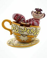 Disney Alice In Wonderland Cheshire Cat Mad Tea Party Statue Figure Jim Shore