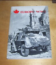 EUROPE WW2 CANADIAN MILITARY VEHICLES OVERSEAS DATA BOOK REPRINT CMHS PUB 1978