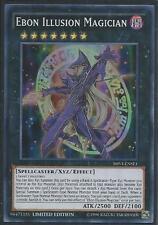 Yugioh Card - Ebon Illusion Magician *Super Rare* SHVI-ENSE1 (NM/M)