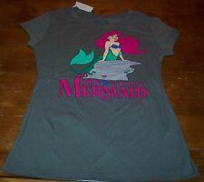 WOMEN'S TEEN Walt Disney THE LITTLE MERMAID ARIEL T-shirt MEDIUM NEW w/ TAG