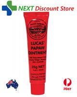 Lucas Papaw Ointment LUCAS Pawpaw Cream Paw Paw Handy Tube 25g