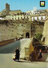 """Postal (Ibiza, Isla Blanca """"Rastrillo y portal de las Tablas"""")"""
