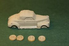 Ho Scale Auto-1941 Chevy Convertible Resin Kit
