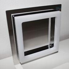LED Wand und Deckenleuchte NÄVE chrome 3000K 400lm 15x15cm NEU