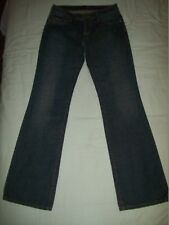 Seven 7 Los Angeles Stonewashed Crystal Embroidered Jeans Size 29W 34L