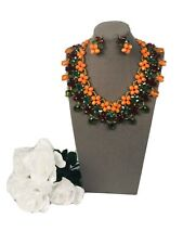 And Earring Set african beaded necklace