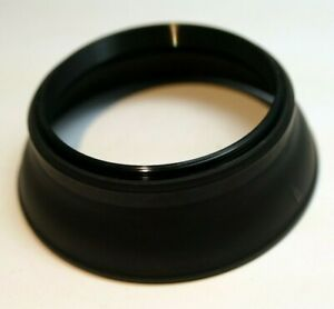 55mm Lens Hood Shade Collapsible Rubber double threaded screw in for 35mm f2.8