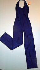 Bal Togs Navy Blue Halter Bodysuit Unitard Costume Adult Extra Large XL 8819