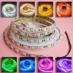 Super Bright 5M 5050 LED Flexible Strip Light Ribbon Tape 60LEDsm Non Waterproof
