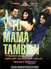 Y Tu Mama Tambien (Dvd) New