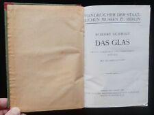 DAS GLAS 1922 Architektur Fachliteratur antiquarisch - staatliche Museen Berlin
