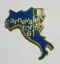 DISTINTIVO / SPILLA del CARNEVALE di TORINO del 1961