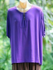 Womens Casual Bliss Shirt - Purple