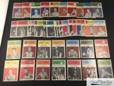 (43) dif 1961-62 Fleer basketball lot (65% of set) w/ STARS ~Good *SEWALL*