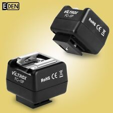 Viltrox FC-5P Adapter Remote Wireless Flash Slave Trigger For Nikon Canon Pentax