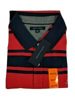 NWT Tommy Hilfiger Short-Sleeve Men's Polo Shirt Size XXL Red/Blue