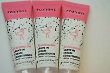 3X Foxybae Flaminglow Leave In Conditioner 29.5ml 1floz Ipsy Sample Hair Care