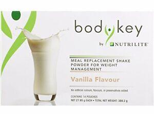 Amway Nutrilite Bodykey Nutritious Delicious Shakes Mix-(Vanilla)