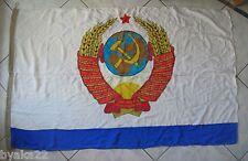 CCCP rare drapeau navale COMMANDANT EN CHEF Marine Soviétique URSS USSR 1990