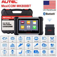 Autel MaxiCOM MK808BT Auto Diagnostic Tool Code Scanner Reader SRS EPB DPF MK808