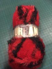 Cometa Roja 1227 Rojo Negro King Cole Urban Tejer Hilo 100g bola