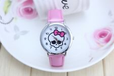 MONSTER HIGH SKULL Girl Child Fashion Watch Quartz Gift NEW~ FREE SHIPPING