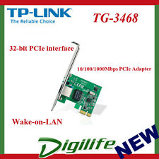 TP-Link TG-3468 Gigabit 10/100/1000Mbps PCI-Express Network LAN Card Adapter