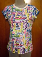 ABBEY DAWN crossbones juniors med Avril Lavigne neon lettering all-over print